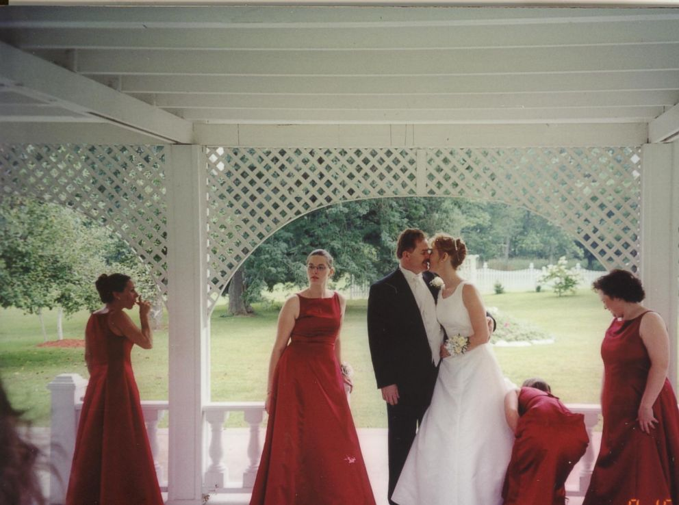 PHOTO: Stacey married David Castor in 2003.