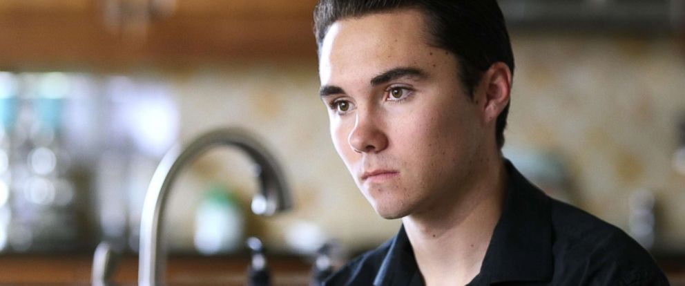 "PHOTO: David Hogg, a senior at Marjory Stoneman Douglas High School, said, ""There shouldnt be any more children that die."""