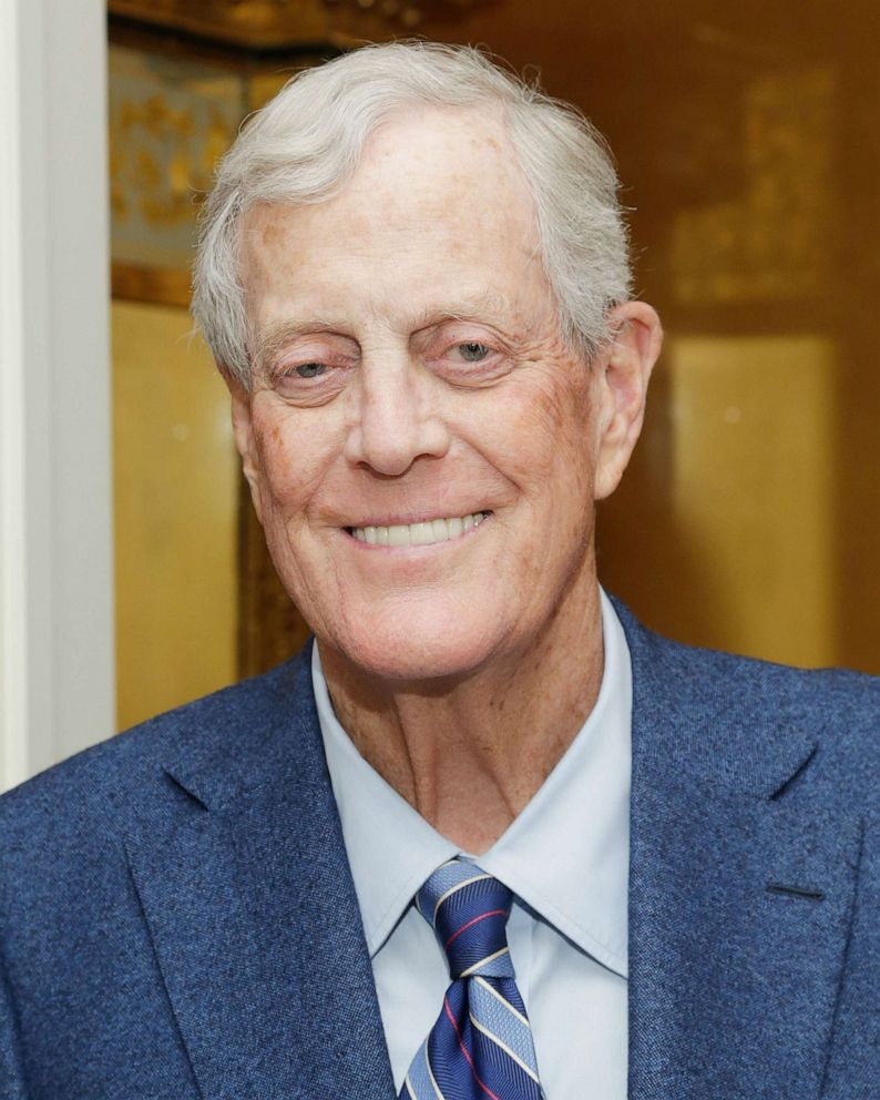 Billionaire, conservative donor David Koch dies at age 79