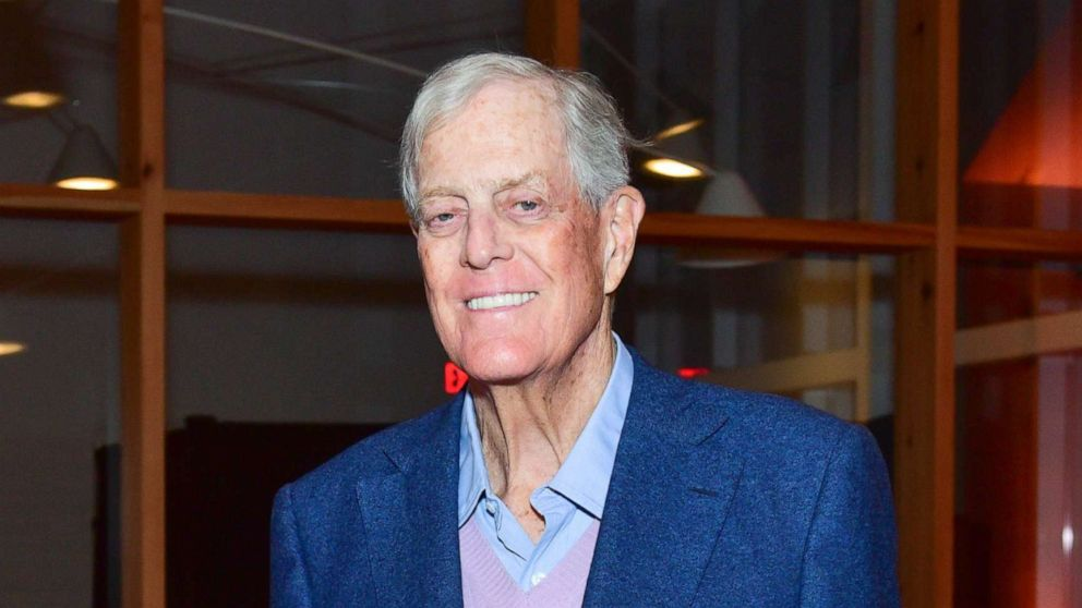 Billionaire conservative icon David Koch dies at 79 thumbnail