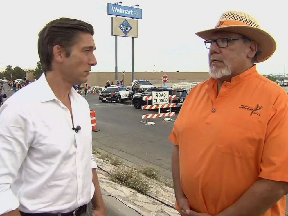 PHOTO: Angel Gomez of Operation HOPE told David Muir that hed reached funeral directors in El Paso, Texas, and theyd agreed to cover the victims funerals at no cost to the families.