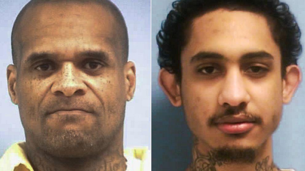 Insassen, die entkamen während der landesweiten lockdown immer noch auf der Flucht