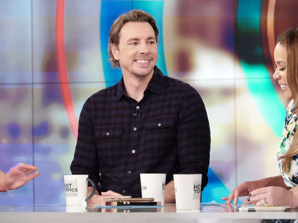 PHOTO: Comedic-actor Dax Shepard shares his parenting strategies on The View Tuesday, June 18, 2019.