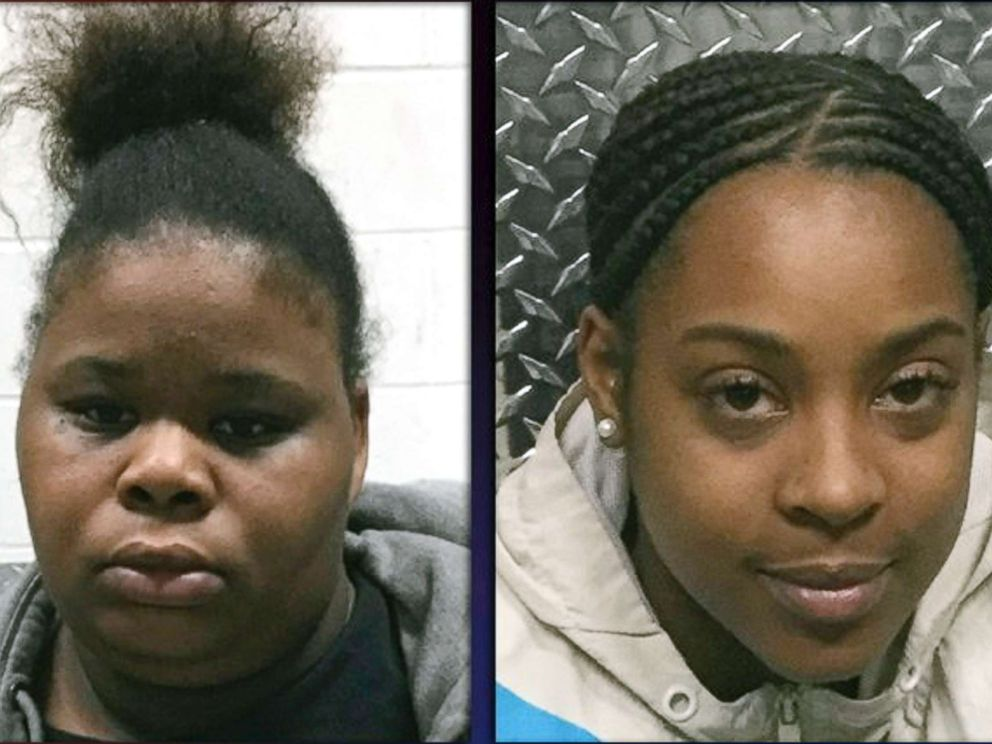 PHOTO: This photo provided by the North County Police Cooperative shows, Wilma Brown, left, and Ariana Silver who are both charged with abuse of a child stemming from incidents at Brighter Daycare in Feb. 2019.