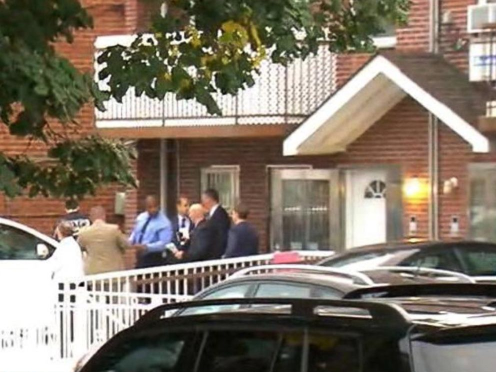 PHOTO: Two adults and three infants were stabbed at a day care center in the Flushing neighborhood of Queens, New York, Sept. 21, 2018.