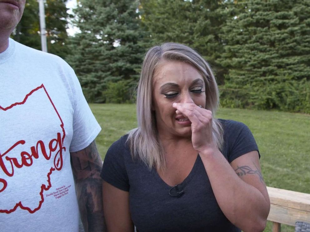 PHOTO: Holly Redman and James Williams were at the scene of the Dayton shooting and tried to help some of the gunshot victims.