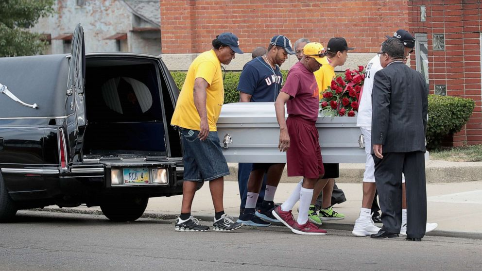 Funerals for victims of Dayton mass shooting begin thumbnail