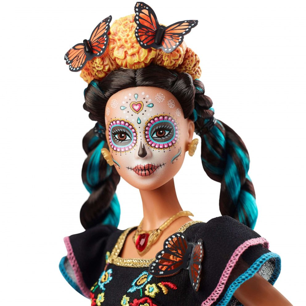PHOTO: Mattel launches Barbie special edition as tribute to Mexican Day of the Dead, August 27, 2019.