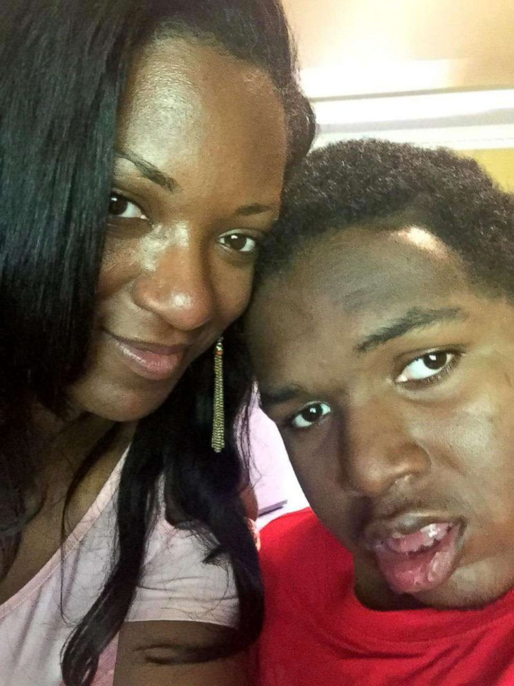 PHOTO: DeAndra Yates son DeAndre is paralyzed after a 2014 shooting at a birthday party.