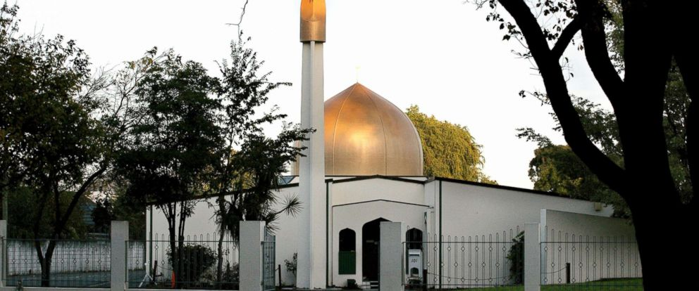 PHOTO: A view of the Al Noor Mosque on Deans Avenue in Christchurch, New Zealand, taken in 2014.