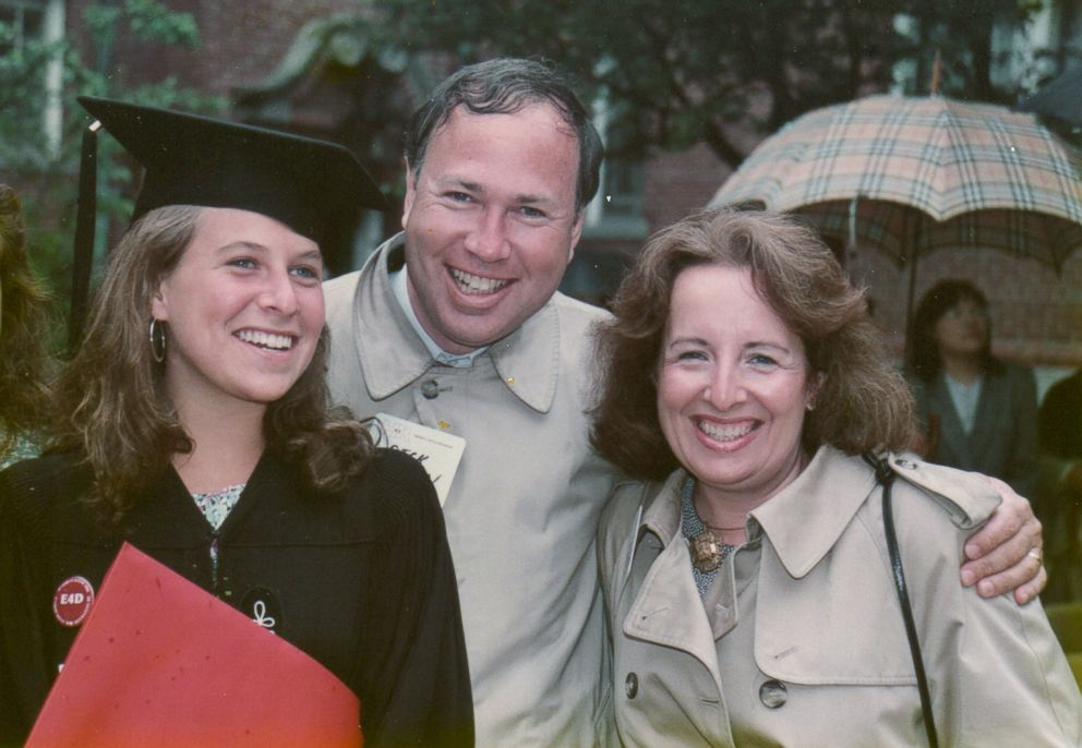 PHOTO: Deborah Copaken appears with her parents after graduating from Harvard University.