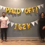 "Elijah Bankole, 30, and Heron Abegaze, 29, shared how they paid off $160,000 in debt in less than three years on ""GMA."""