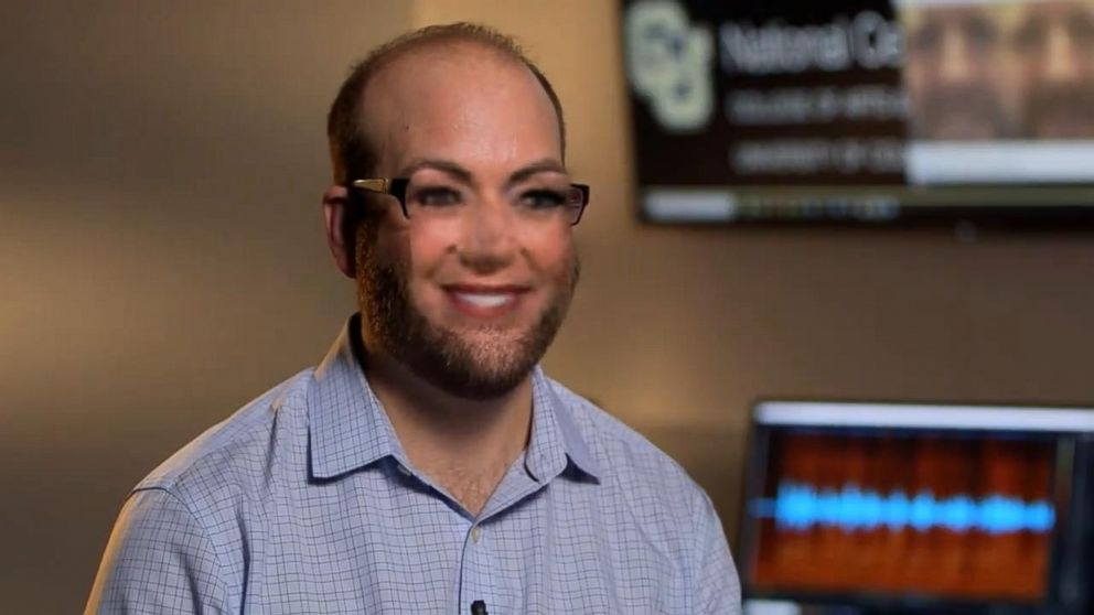 Jeff Smith at the University of Colorado Denver walked ABC News' Kyra Phillips through the process of face swapping -- giving it a try.