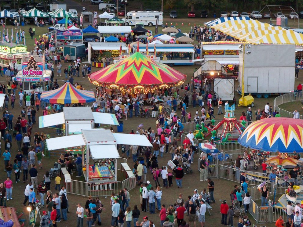 Girl dies after falling off ride at NJ weekend festival, cops say