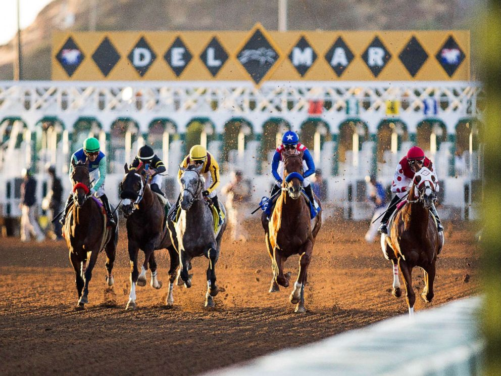 PHOTO: Del Mar racetrack, pictured here in 2015, suffers first two racing fatalities of 2019 in span of 90 minutes, in Del Mar, Calif., Nov. 10, 2019.
