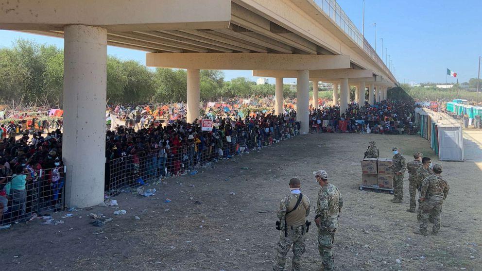 Biden admin outlines response to surge of Haitian migrants at border