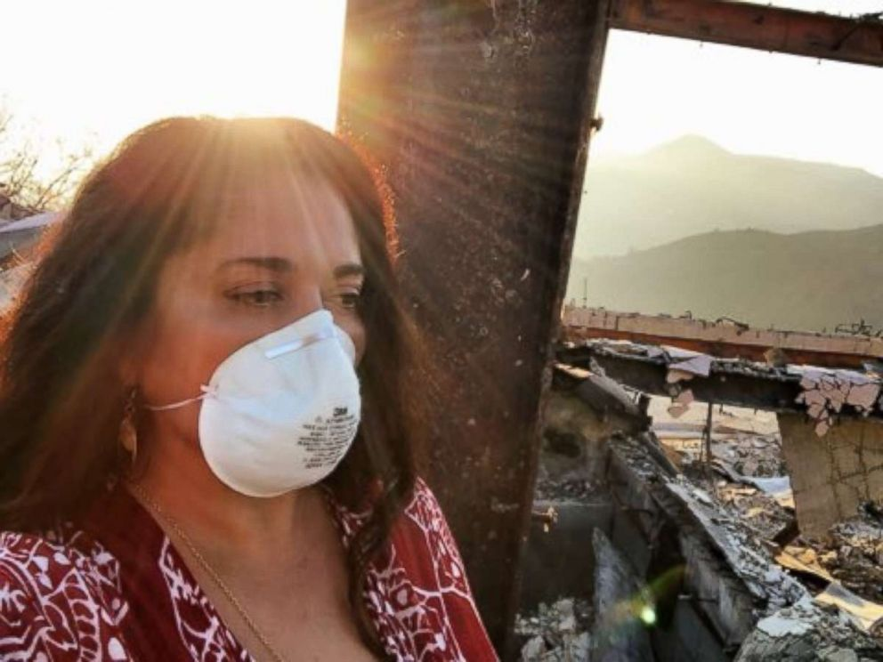 PHOTO: Yvonne DeLaRosa Greens home in Malibu, Calif., was destroyed by the Woolsey Fire.