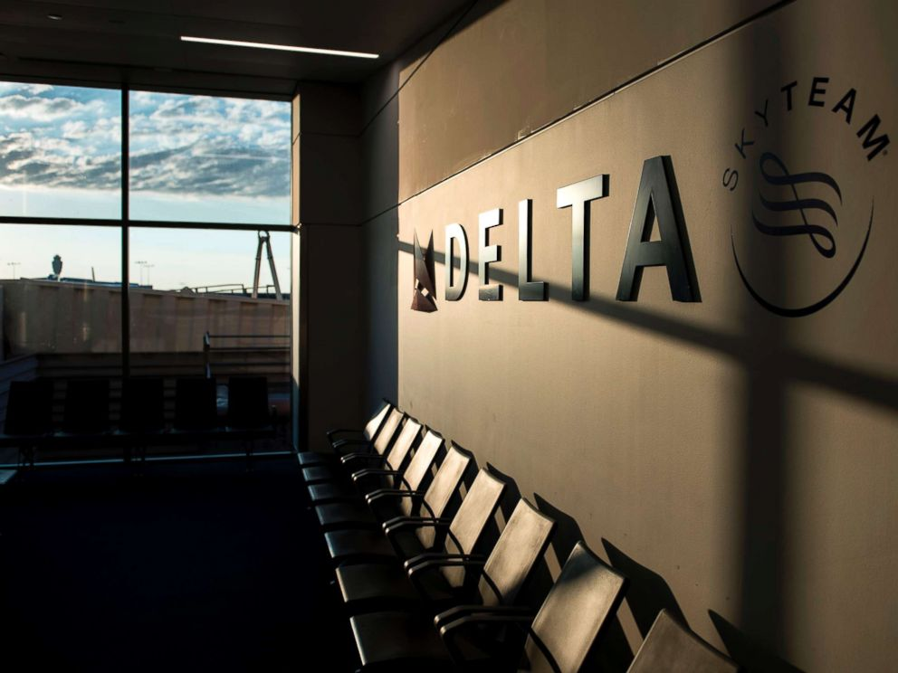 PHOTO: A Delta Airlines gate is seen at Hartsfield-Jackson Atlanta International Airport, July 30, 2017, in Atlanta, Georgia.