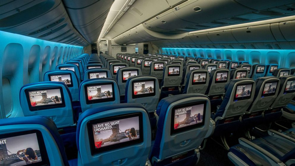 Delta S New Boeing 777 Features Broadest Seats Of Any Wide Body U S Airliner Abc News