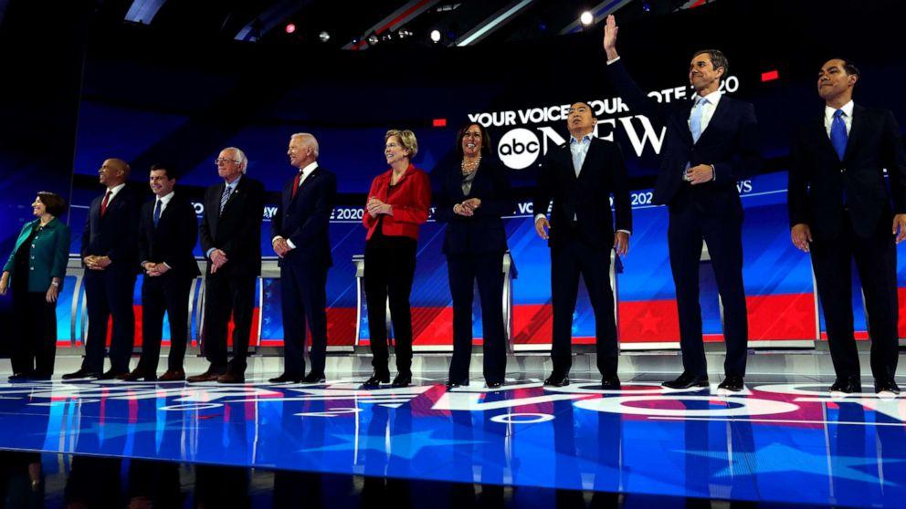 7 βασικά αποσπάσματα από την Δημοκρατική συζήτηση στο Χιούστον