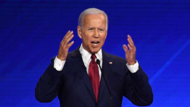 The Note: Rivals test Biden with indirect shots