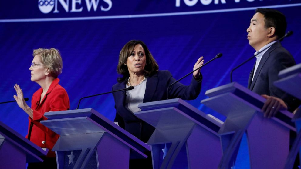 A Wizard of Oz reference, an interruption and 5 more moments from Democratic debate