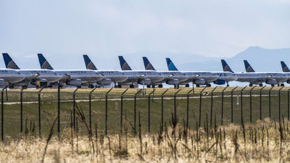 Airlines working to ensure thousands of parked planes are ready to fly again thumbnail