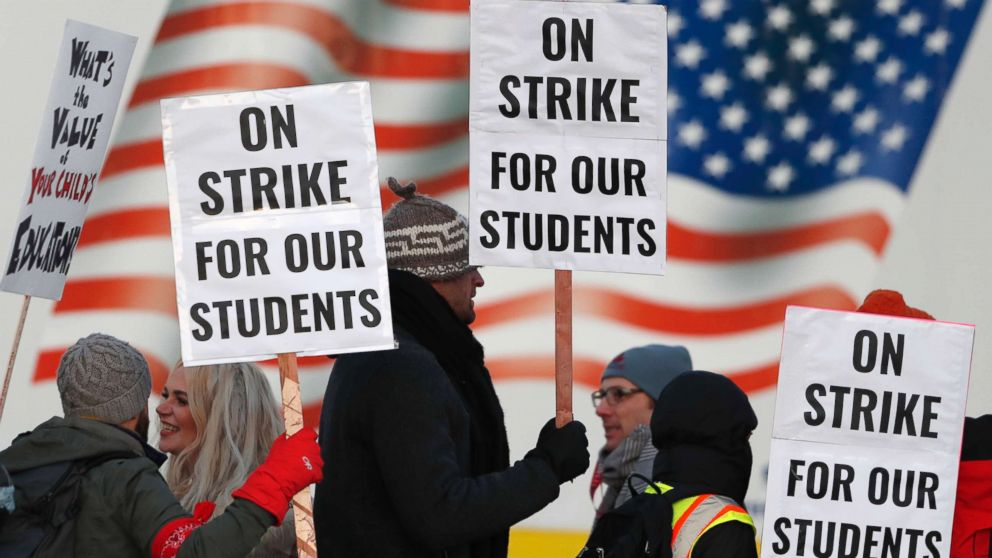 Denver teachers strike ends with 'historic' deal