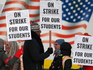 Denver teachers win pay hike in historic deal to end strike