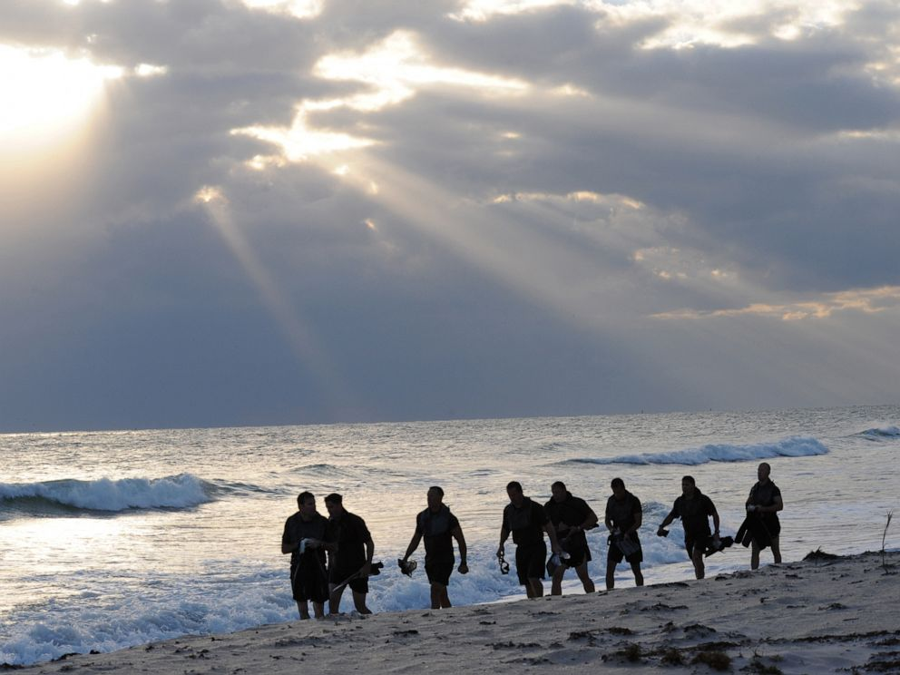 3 SEAL Team 7 leaders fired for team's alleged misconduct