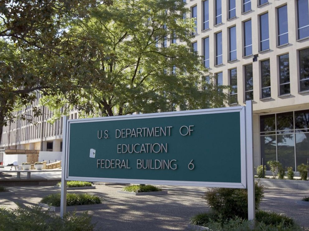 PHOTO: The Department of Education building is shown in Washington, DC, July 21, 2007.