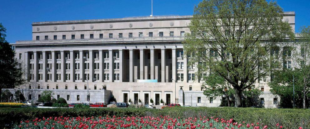 PHOTO: Department of Interior headquarters building, Washington, D.C.