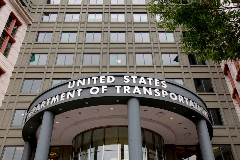PHOTO: The US Department of Transportation building in Washington, DC.