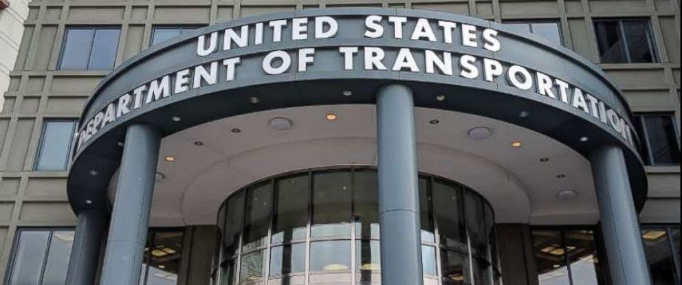 PHOTO: Department of Transportation in Washington, D.C.