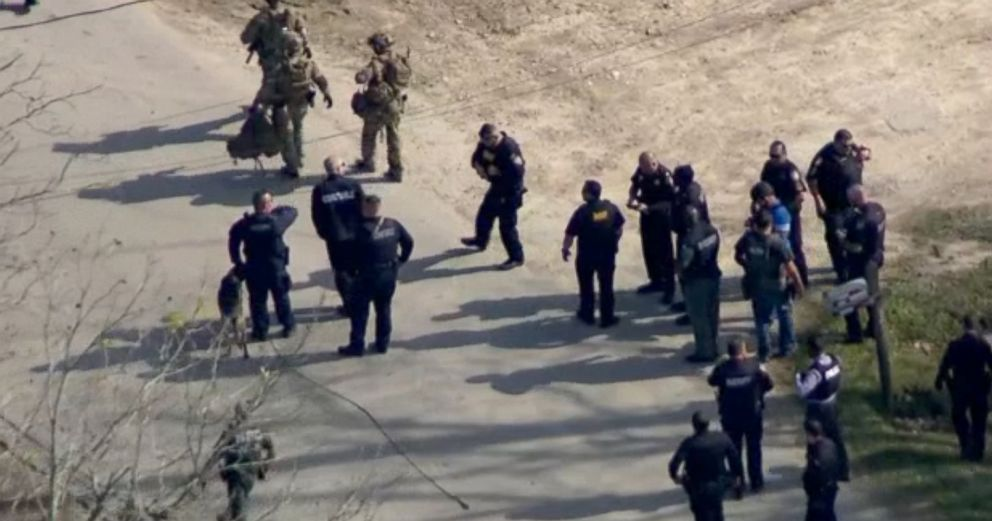 PHOTO: Police investigate a shooting in Houston, Texas, Dec. 11, 2018.