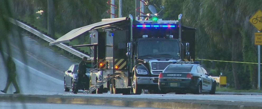 PHOTO: A Broward, Florida, sheriff's deputy was killed in a car crash while responding to a domestic dispute, July 21, 2019.