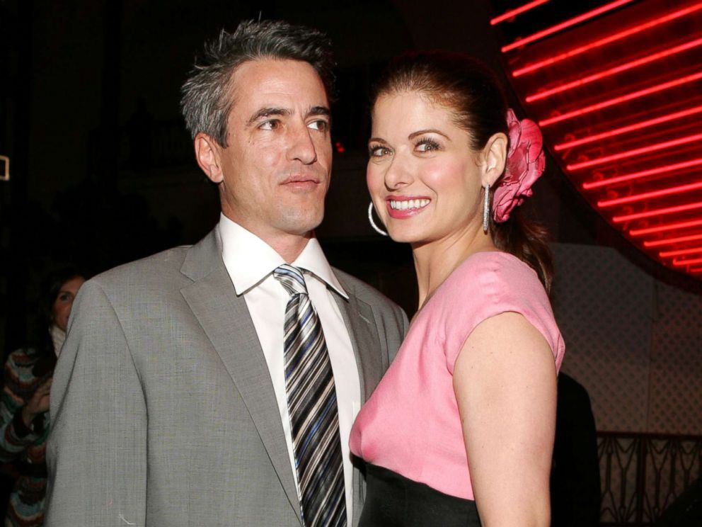 PHOTO: Actors Dermot Mulroney and Debra Messing attend the premiere of the film The Wedding Date, Jan. 27, 2005, at Universal Studios in Los Angeles.