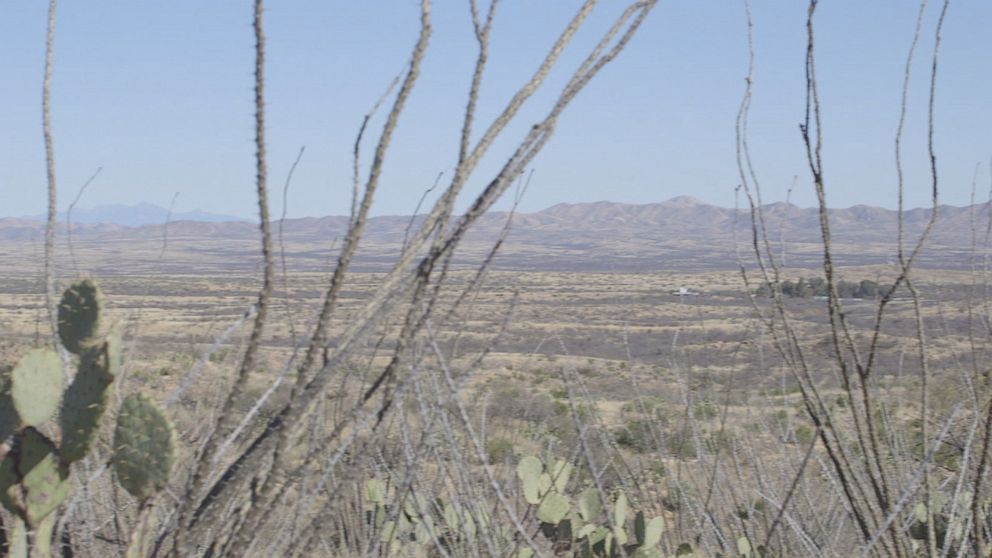 """PHOTO: Napier says in Pima County, """"some places the only way to get to those areas are by air or hiking."""""""