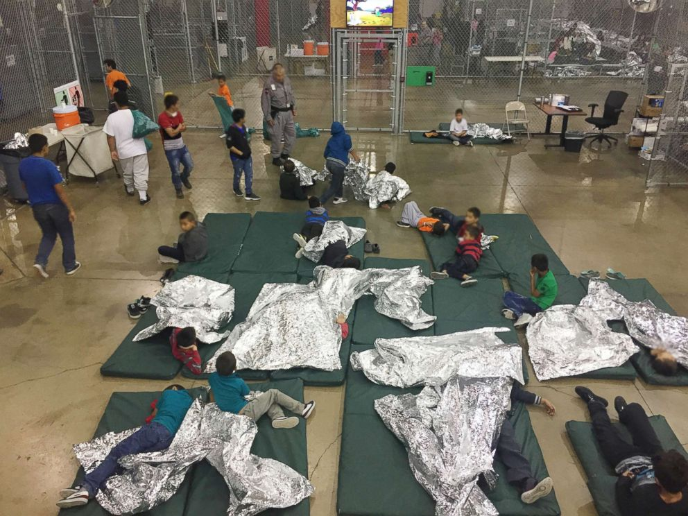 PHOTO: Children are pictured at Rio Grande Valley Centralized Processing Center in Rio Grande City, Texas, June 17, 2018.