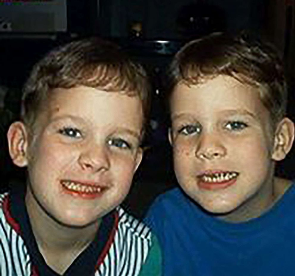 PHOTO: Nick Coats (L) is seen in this undated photo with his brother Devin.