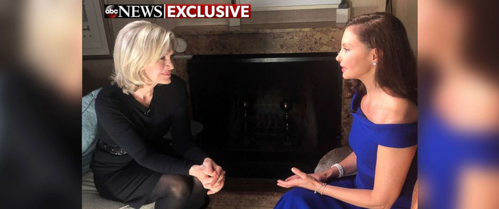 PHOTO: ABCs Diane Sawyer interviews actress Ashley Judd in an exclusive interview for ABC News.