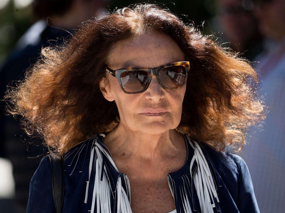 PHOTO: Fashion designer Diane von Furstenberg attends an event in Sun Valley, Idaho, July 12, 2017.