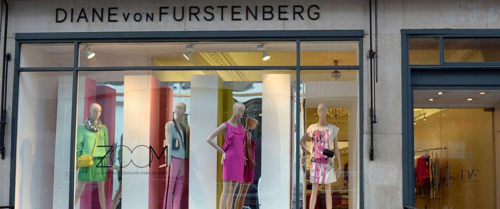 PHOTO: A Diane Von Furstenberg shop in Bruton Street, London, Feb. 1, 2013.