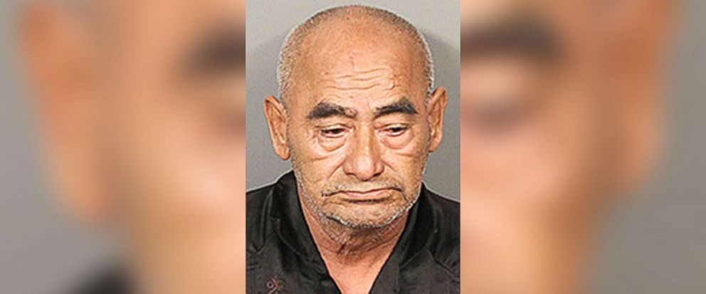 PHOTO: Dionicio Fierros, 69, of Los Angeles, was arrested on Aug 24, 2018 and booked at the Indio Jail for theft of agricultural products, after police found 800 pounds of lemons in his car.