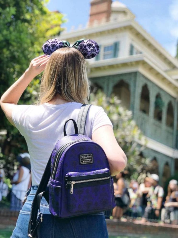 4fe72e583c These new backpacks by Disney Loungefly are made for Disney park fans.