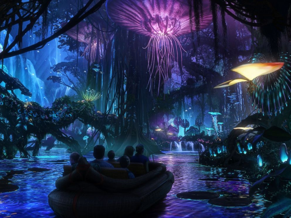 PHOTO: Rohde has overseen the development of Disneys Avatar-inspired land, seen in this illustration, which is scheduled to open at Animal Kingdom in 2017.