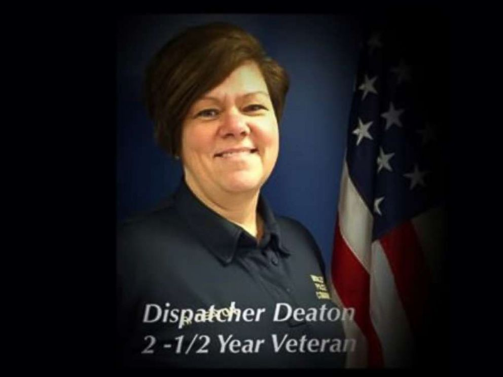 PHOTO: Rhonda Deaton, a 911 dispatcher for Middletown, Ohio, is pictured in an undated handout photo.
