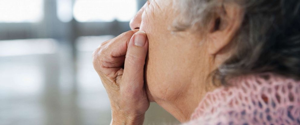 PHOTO: A senior woman appears in this undated stock photo.