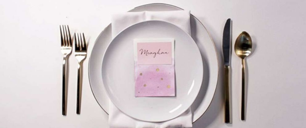 PHOTO: DIY wedding place cards.