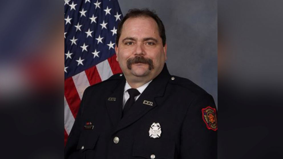 Frantic 911 call made by wife of fatally wounded veteran Indiana firefighter is released